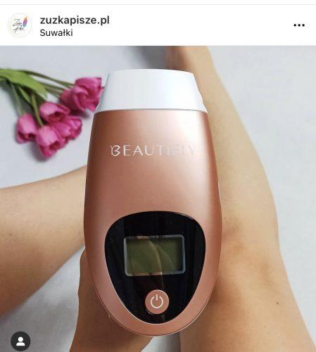 Depilator laserowy IPL B-Shine PRO, depilacja, redukcja trądziku, rewitalizacja skóry photo review