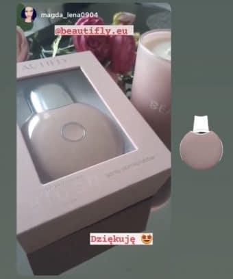 Peeling kawitacyjny B-Scrub Perfume Blush photo review